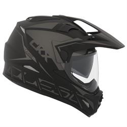 Шлем внедорожный CKX DUAL SPORT RSV QUEST EDL, черный мат., XL - фото 5780