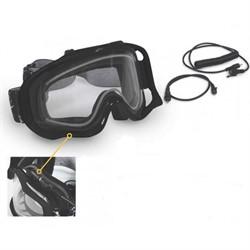 Очки снегоходные CKX FALKON, с электроподогревом, черный