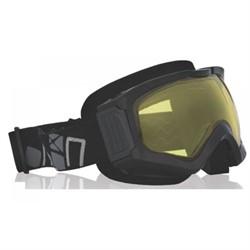 Очки снегоходные CKX COMANCHE, с двойной линзой, черный - фото 6105