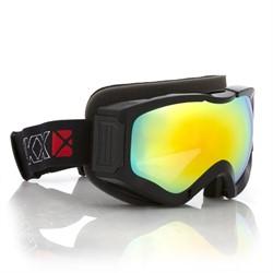 Очки снегоходные CKX COMANCHE, с двойной линзой золотистый Revo, черный - фото 6127