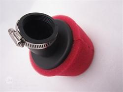 Фильтр воздушный  для питбайка D-38мм 45 град.
