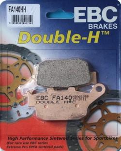 Колодки тормозные Double-H, FA140HH - фото 7411