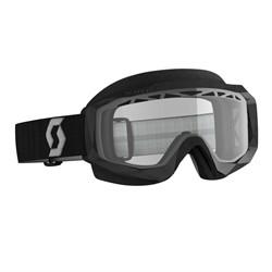 Очки SCOTT Hustle X Snow Cross, black/grey clear