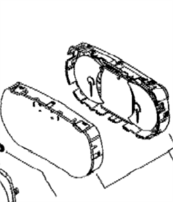 Стекло приборной панели(415129349) - фото 8545