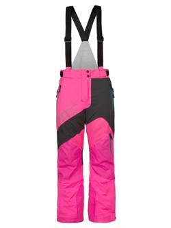Брюки снегоходные женские CKX MIRAGE, серый/розовый, S - фото 9347