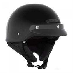 Шлем открытый CKX VG500 SOLID, черный мат, L(347066) - фото 9524