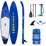 Сапборд надувной AZTRON Neptune Touring 12.6 ft (комплект)