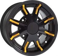 Накладка декоративная на диск колеса (серая) (705400681)