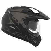 Шлем внедорожный CKX DUAL SPORT RSV QUEST EDL, черный мат., XL
