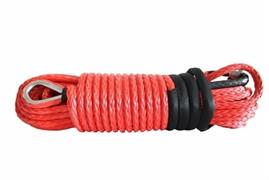 Трос синтетический для лебедки 5мм 3/16 x 50, красный