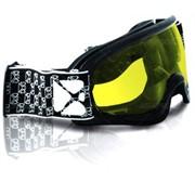 Очки снегоходные подростковые CKX BLAZE, с двойной линзой, черный