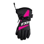 Перчатки подростковые FXR Helix Race, с утеплителем
