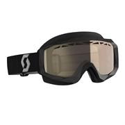 Очки SCOTT Hustle Snow Cross, black/grey light sensitive bronze chrome