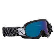Очки снегоходные CKX BLAZE, с двойной линзой синий Revo, черный
