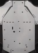 Защита днища центральная алюминиевая Commander до 2014(715000693)