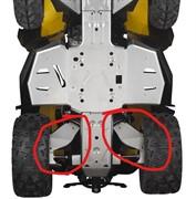 Защита задних рычагов алюминиевая G2, G2S