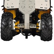 Защита задняя алюминиевая G2 MAX, G2L MAX (715002029)
