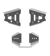 Защита передних рычагов и заднего редуктора G1(40.1873)