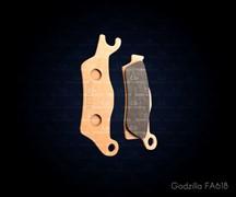Колодки тормозные левые G2(FA618)
