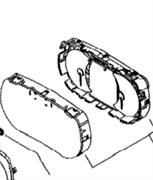 Стекло приборной панели(415129349)