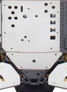 Защита днища задняя алюминиевая Maverick(715001643)