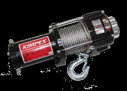 Лебедка электрическая KIMPEX 3500,со стальным тросом